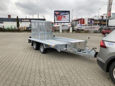 Anhaenger Maschinentransporter Hapert 3,5 to