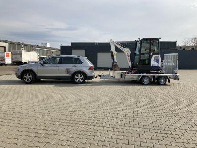 Anhänger Maschinentransporter Hapert 3,5 to
